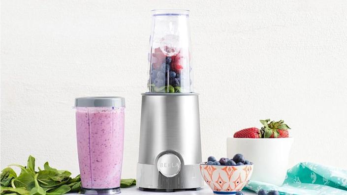 More than 970 Macy's shoppers praised this Bella blender for its compact size and blending speed.