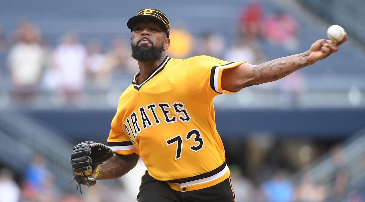 Felipe Vazquez was denied bail and charged with multiple counts of child pornography and unlawful sexual contact with a minor on Tuesday. (Justin Berl/Getty Images)
