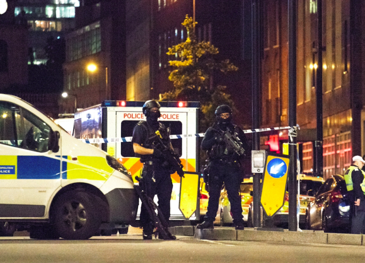 Mr Larner was reportedly stabbed while protecting others from three terrorists (Rex)