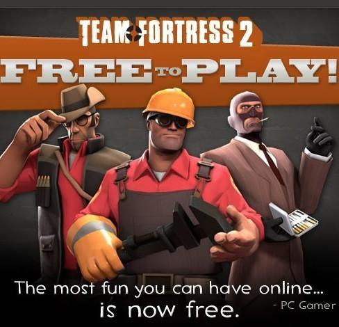 Team Fortress 2 free-to-play