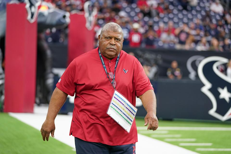 Houston's Romeo Crennel is one of the few Black head coaches in the NFL. (Photo by Daniel Dunn/Icon Sportswire via Getty Images)