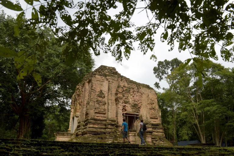 The temples of Sambor Prei Kuk were rediscovered by French scholars in the 1880s and it took decades to pare back tree roots and lumps of earth that had consumed the monuments over the centuries