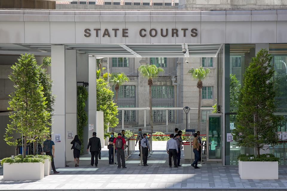 The Singapore State Courts. (PHOTO: Dhany Osman / Yahoo News Singapore)