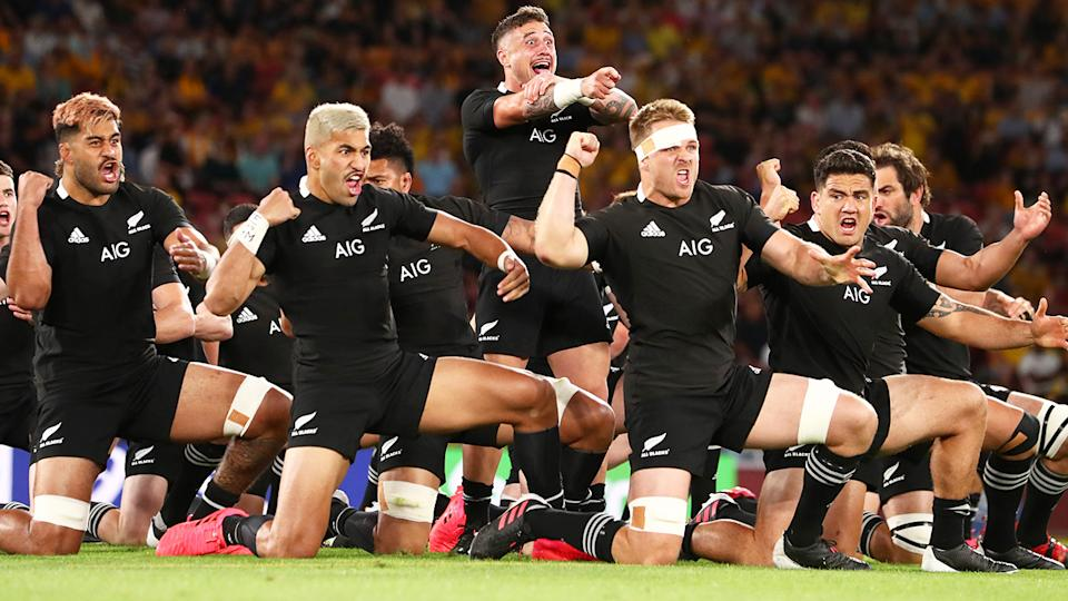 New Zealand Rugby will vote on whether or not to allow a US firm to invest in the All-Blacks. (Photo by Chris Hyde/Getty Images)