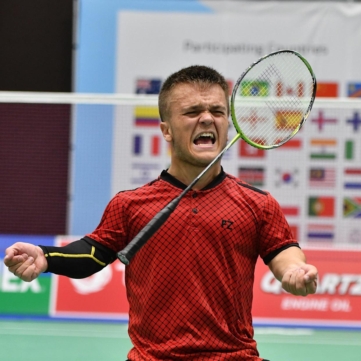 Jack Shephard clinched world gold in 2017 (Badminton Photo/PA)
