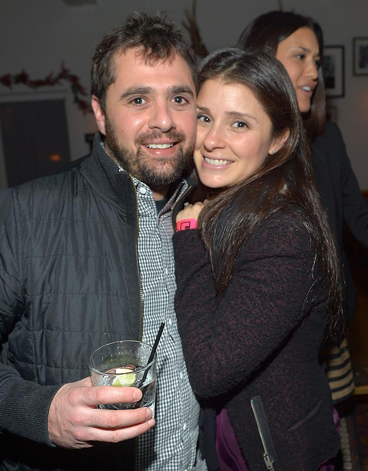 SANTA MONICA, CA - DECEMBER 11:  Shiri Appleby (R) attends the I Heart Ronson Holiday Party at The Bungalow on December 11, 2012 in Santa Monica, California.  (Photo by Charley Gallay/Getty Images for Charlotte Ronson)