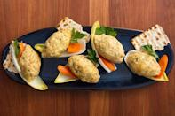 """<p>Try making gefilte fish at home this year with this delicious, detailed recipe.</p><p><em><a href=""""https://www.delish.com/cooking/recipe-ideas/a19473685/gefilte-fish-recipe/"""" rel=""""nofollow noopener"""" target=""""_blank"""" data-ylk=""""slk:Get the recipe from Delish »"""" class=""""link rapid-noclick-resp"""">Get the recipe from Delish »</a></em></p>"""