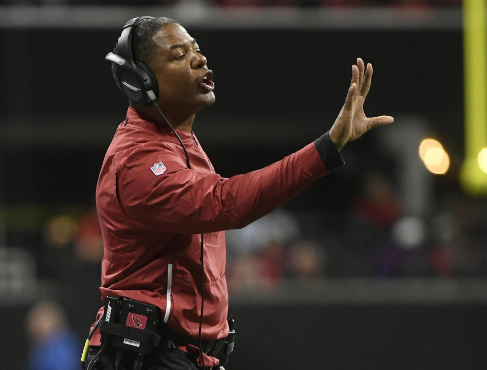Steve Wilks lasted only one season, a 3-13 campaign, with the Arizona Cardinals. (AP)