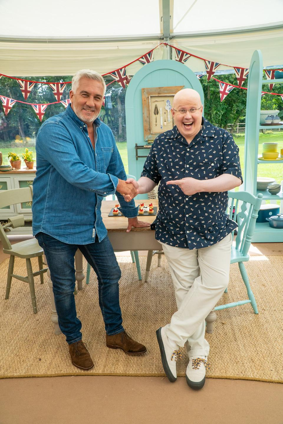 Paul Hollywood and Matt Lucas (Channel 4)