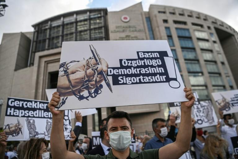Turkey frees reporters convicted in state secrets trial