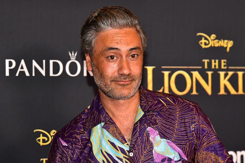"Taika Waititi attends the premiere of Disney's ""The Lion King"" at Dolby Theatre on July 09, 2019. (Photo by Matt Winkelmeyer/Getty Images)"