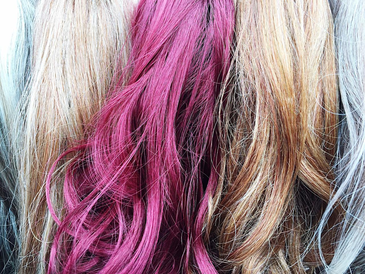9 Ways To Temporarily Color Your Hair At Home