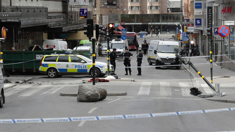 An Uzbek man being held in custody is the suspected driver of the truck attack in Stockholm