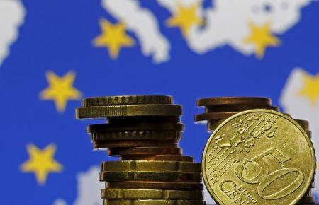 European Central Bank holds; Draghi remarks eyed