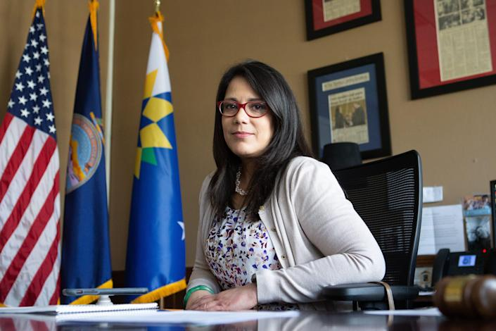 Mayor Michelle De La Isla of Topeka, Kan., says she began thinking about not running for reelection during the coronavirus pandemic.
