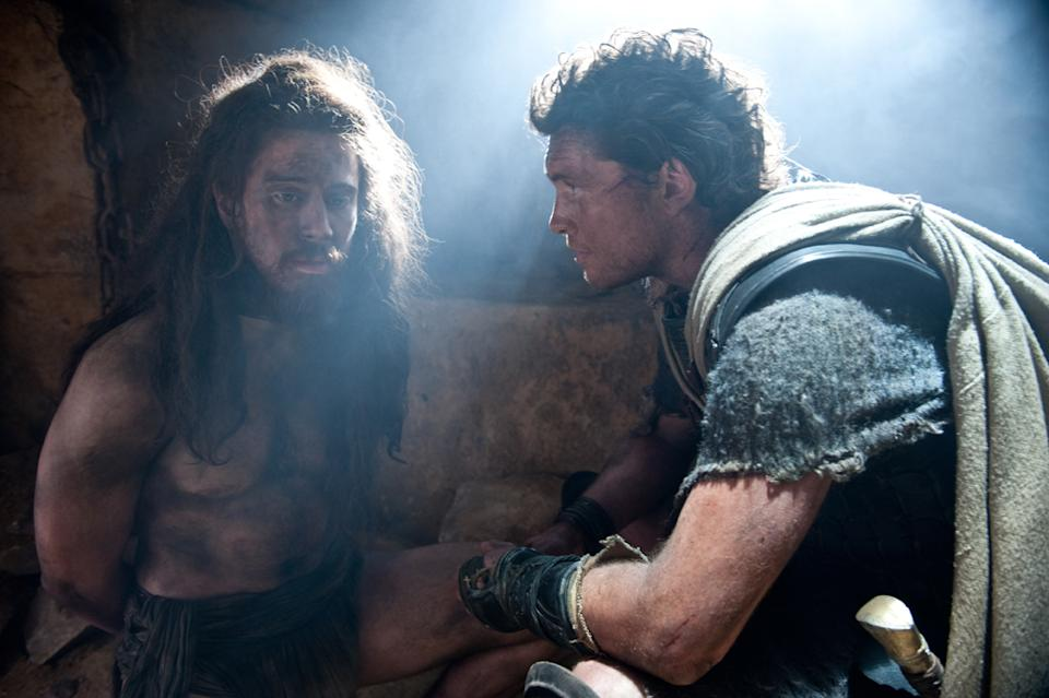 "Toby Kebbell and Sam Worthington in Warner Bros. Pictures' <a href=""http://movies.yahoo.com/movie/wrath-of-the-titans/"" data-ylk=""slk:Wrath of the Titans"" class=""link rapid-noclick-resp"">Wrath of the Titans</a> - 2012"