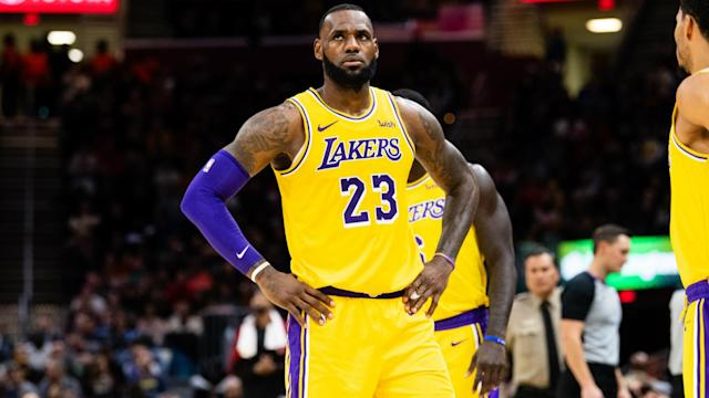 LeBron James will be a notable absence from the NBA playoffs this season and Steve Kerr would have rather seen him there.