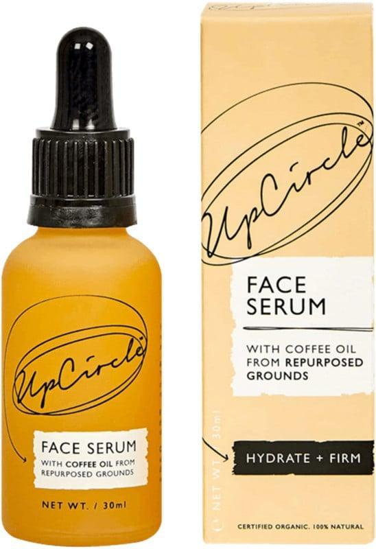 <p>Finish off your routine with the <span>UpCircle Organic Face Serum With Coffee Oil</span> ($20). It brightens with vitamin C and antioxidants, helps moisturize and repair the skin barrier with sea buckthorn oil, and will revive your skin.</p>