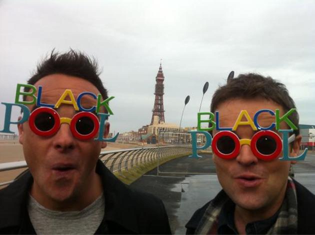 Ant and Dec appear to be having a whale of a time on holiday in Blackpool. Is there anything the pair don't do together? Love their bromance.