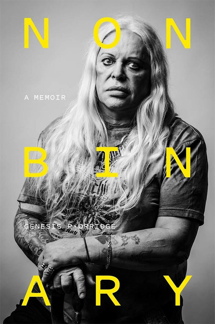 """<h2>""""Nonbinary"""" by Genesis P-Orridge<br></h2><br>Pioneering industrial musician Genesis P-Orridge passed away in 2020, but they left behind a memoir describing their singular and highly influential journey through a variety of creative worlds. The music nerd in your life will really appreciate the deep dive into the artist's life. <br><br><em>Shop music memoirs on <strong><a href=""""https://amzn.to/3pLb99n"""" rel=""""nofollow noopener"""" target=""""_blank"""" data-ylk=""""slk:Amazon"""" class=""""link rapid-noclick-resp"""">Amazon</a></strong></em><br><br><strong>Abrams Press</strong> """"Nonbinary"""" by Genesis P-Orridge, $, available at <a href=""""https://www.amazon.com/Nonbinary-Memoir-Genesis-P-Orridge/dp/1419743864"""" rel=""""nofollow noopener"""" target=""""_blank"""" data-ylk=""""slk:Amazon"""" class=""""link rapid-noclick-resp"""">Amazon</a>"""