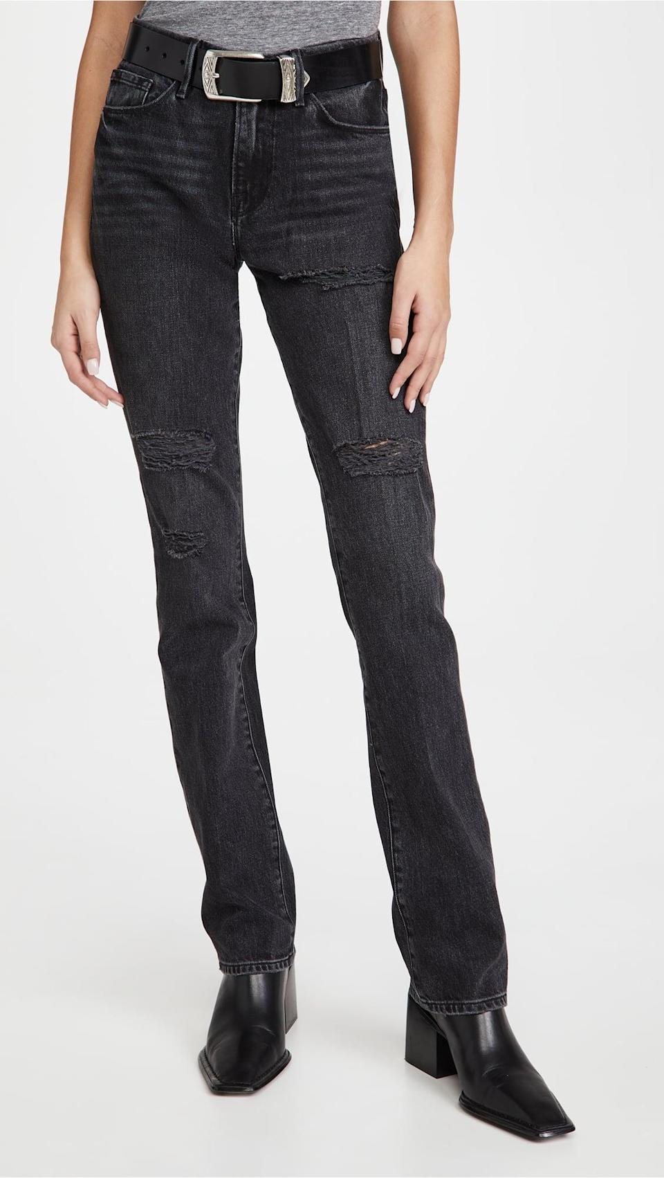 <p>Grab these <span>Frame Le Mini Boot Jeans</span> ($155, originally $258) now, and wear them all year long.</p>