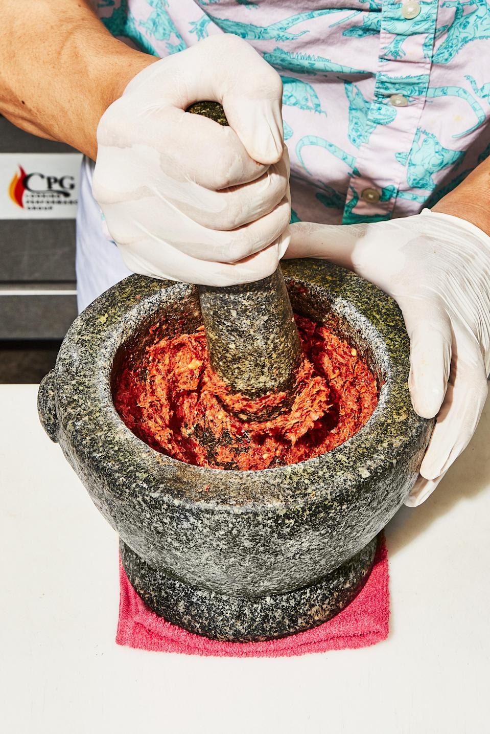 When you have the time, this red curry paste from Ugly Baby is worth the labor.