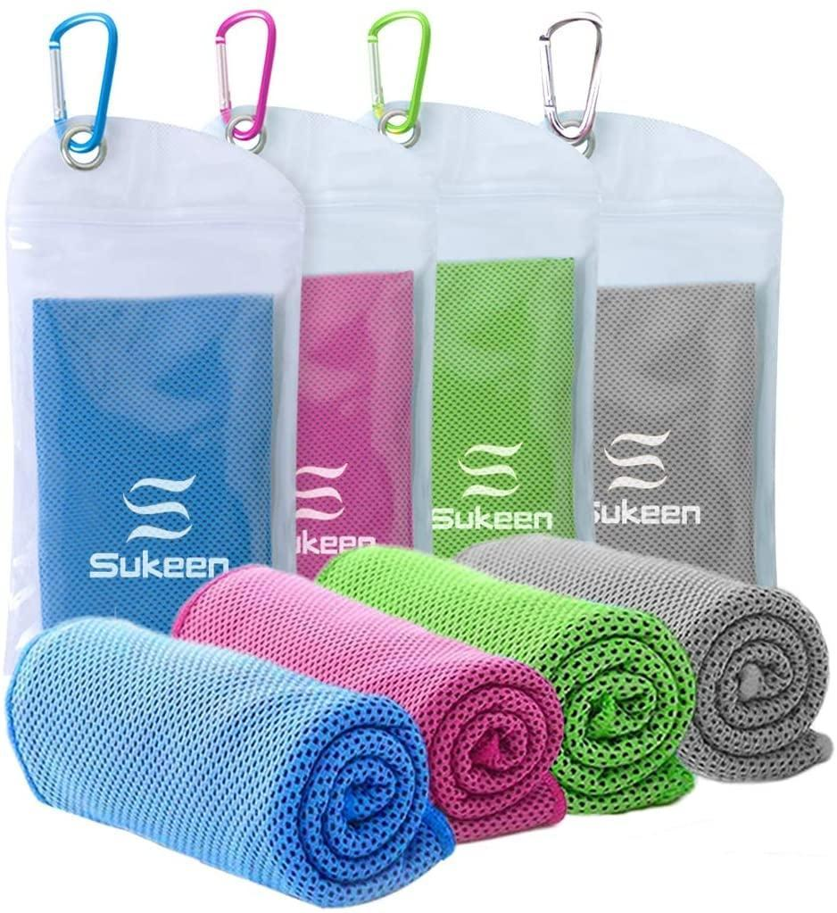 <p>If you love to workout outdoors and have an active lifestyle, these <span>Microfiber Breathable Cooling Towels 4 Pack</span> ($16) will come in handy. They absorb sweat in an instant while keeping you feeling cool.</p>