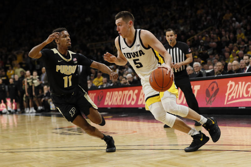 Iowa's CJ Fredrick has surgery for stress fracture in foot