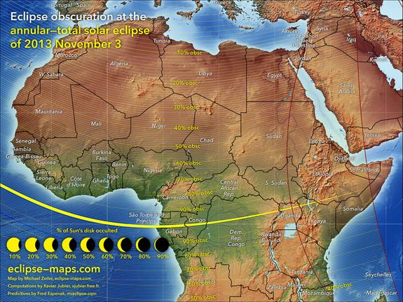 Partial Solar Eclipse Map.Dramatic Partial Solar Eclipse Could Wow Us East Coast Sunday