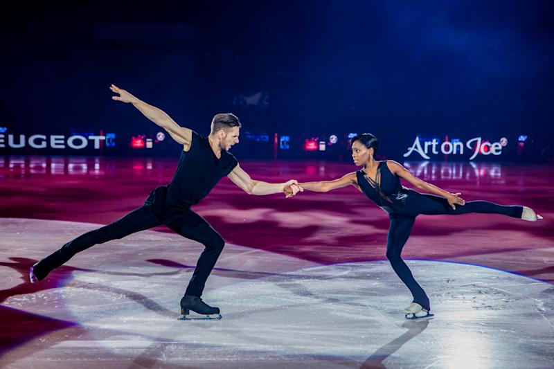 Vanessa James and Morgan Cipres, French figure skaters