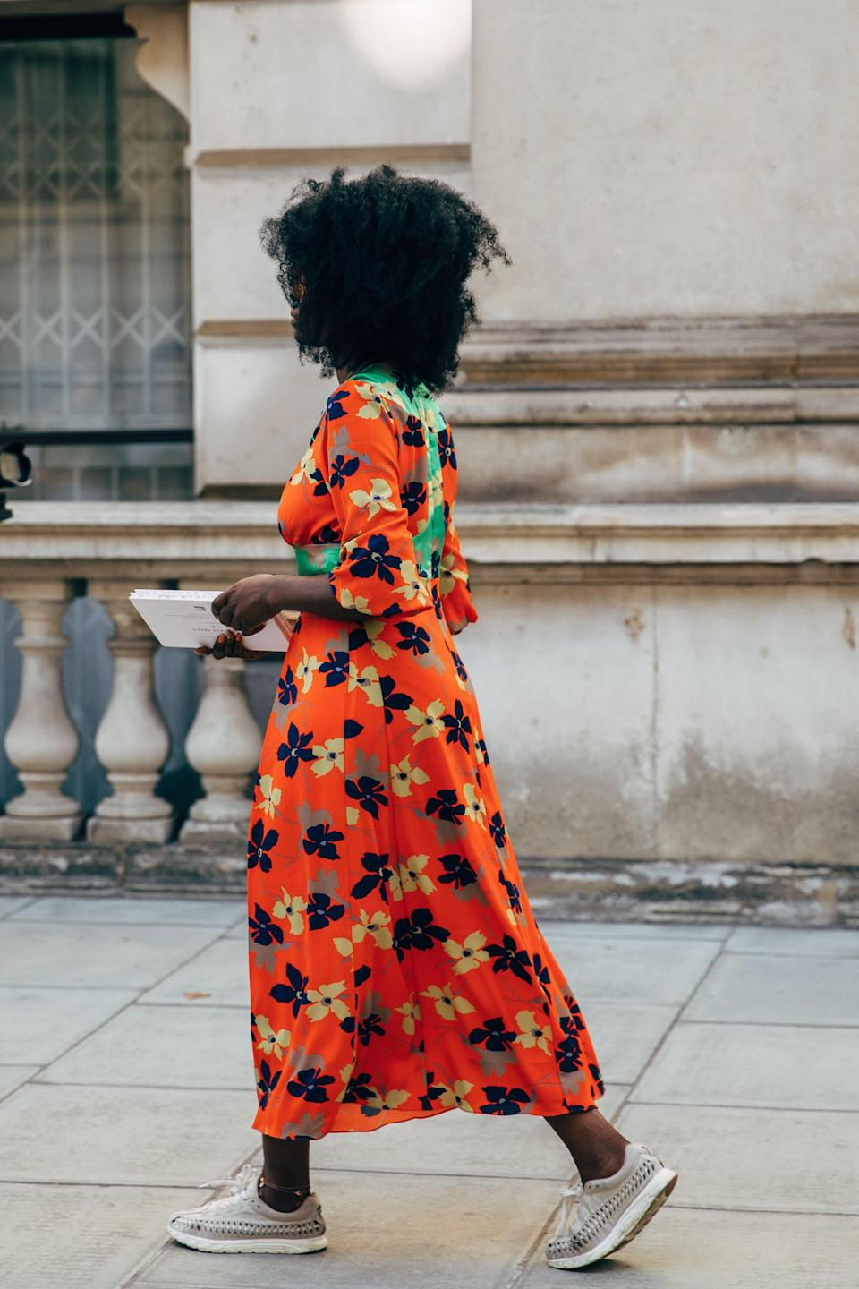 <p>A printed dress like this requires little else but your favorite footwear for a complete - and totally cute - outfit. </p>