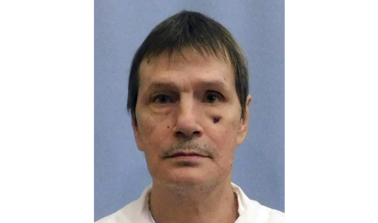 FILE - This undated file image provided by the Alabama Department of Corrections shows Doyle Lee Hamm, an inmate who was scheduled to be executed Thursday, Feb. 22, 2018 in Alabama. The state of Alabama must seek a new execution date for Hamm if it still wants to execute him following an unexpected postponement. Prison officials halted preparations for Doyle Lee Hamm's lethal injection late Thursday because medical staff said they couldn't find a suitable vein before the execution warrant expired. (Alabama Department of Corrections via AP, File)