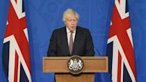 Legal rules for facemasks, social distancing to end in England: Johnson