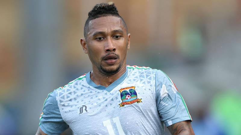 Gervais Waye-Hive of Seychelles during the 2019 Cosafa Cup