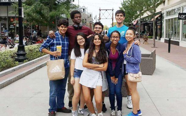 PHOTO: Jared Jaramillo and a group of other first generation college students at Tufts University explore Boston in this photo. (Courtesy Jared Jaramillo)