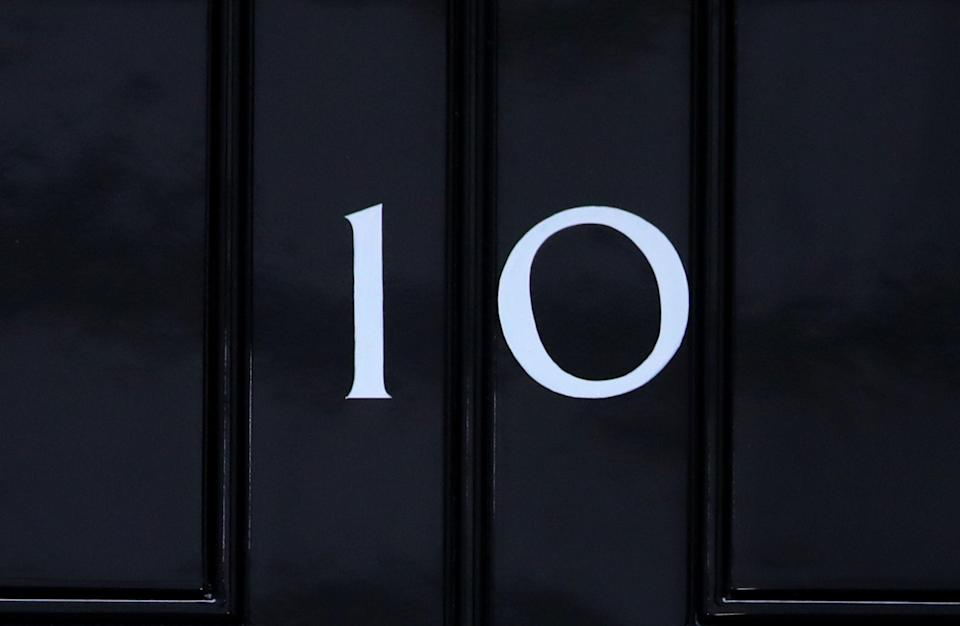 The door to 10 Downing Street (PA Wire)