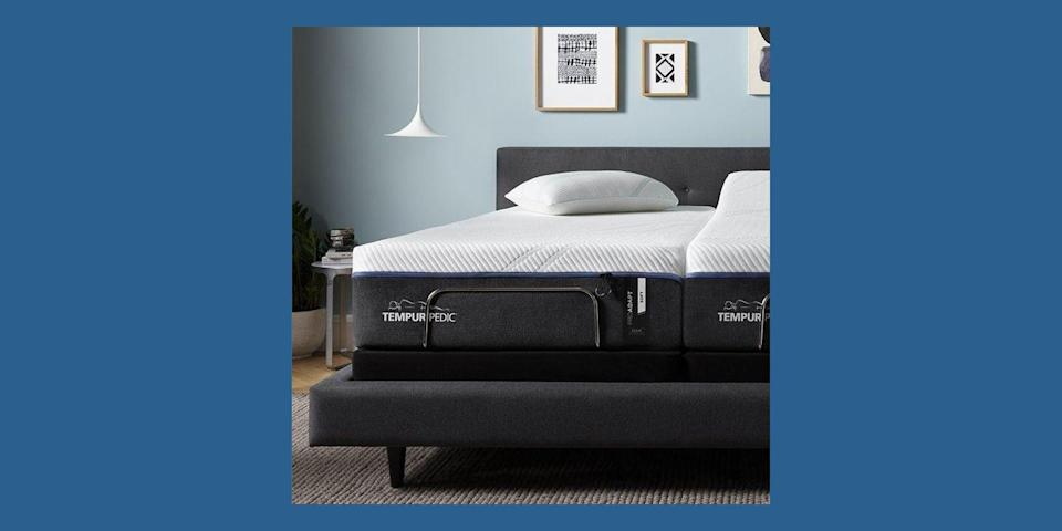 """<p><a href=""""https://go.redirectingat.com/?id=74968X1525080&xs=1&url=https%3A%2F%2Fwww.tempurpedic.com%2F&sref=https%3A%2F%2Fwww.housebeautiful.com%2Fshopping%2Ffurniture%2Fg32291079%2Fbest-mattress-brands%2F%3Fhash%3DeyJpZCI6IjMwNWE5NGFlLWE0MTUtNDFlZC1hNjQzLWI5YWI3MTI5Y2QwZCIsInR5cGUiOiJjb250ZW50IiwidmVyc2lvbiI6MCwidmVyc2lvbmVkIjpmYWxzZSwidmVyc2lvbl9jcmVhdGVkX2F0IjoiIn0%253D"""" rel=""""nofollow noopener"""" target=""""_blank"""" data-ylk=""""slk:Tempur-Pedic"""" class=""""link rapid-noclick-resp"""">Tempur-Pedic</a> has been known for its signature memory foam mattresses since the foundation of the company in 1992. The brand has multiple mattress offerings—with some hybrid options—to choose from, along with pillows, mattress toppers, adjustable bed bases, bedding, and more. As far as the return policy goes, its mattresses come with a 90-night trial. And, Tempur-Pedic was rated No. 1 in customer satisfaction with retail mattresses by J.D. Power in 2019.</p><p><a class=""""link rapid-noclick-resp"""" href=""""https://go.redirectingat.com?id=74968X1596630&url=https%3A%2F%2Fwww.tempurpedic.com%2Fshop-mattresses%2Ftempur-proadapt%2Fv%2F2593%2F%3FranMID%3D42599%26ranEAID%3Dtv2R4u9rImY%26ranSiteID%3Dtv2R4u9rImY-CA758f9VDaIfm6n5WsWj4Q%26affsrc%3D1&sref=https%3A%2F%2Fwww.housebeautiful.com%2Fshopping%2Ffurniture%2Fg32291079%2Fbest-mattress-brands%2F"""" rel=""""nofollow noopener"""" target=""""_blank"""" data-ylk=""""slk:BUY NOW"""">BUY NOW </a><strong>ProAdapt Mattress, $2,999, <em>tempurpedic.com</em></strong></p>"""