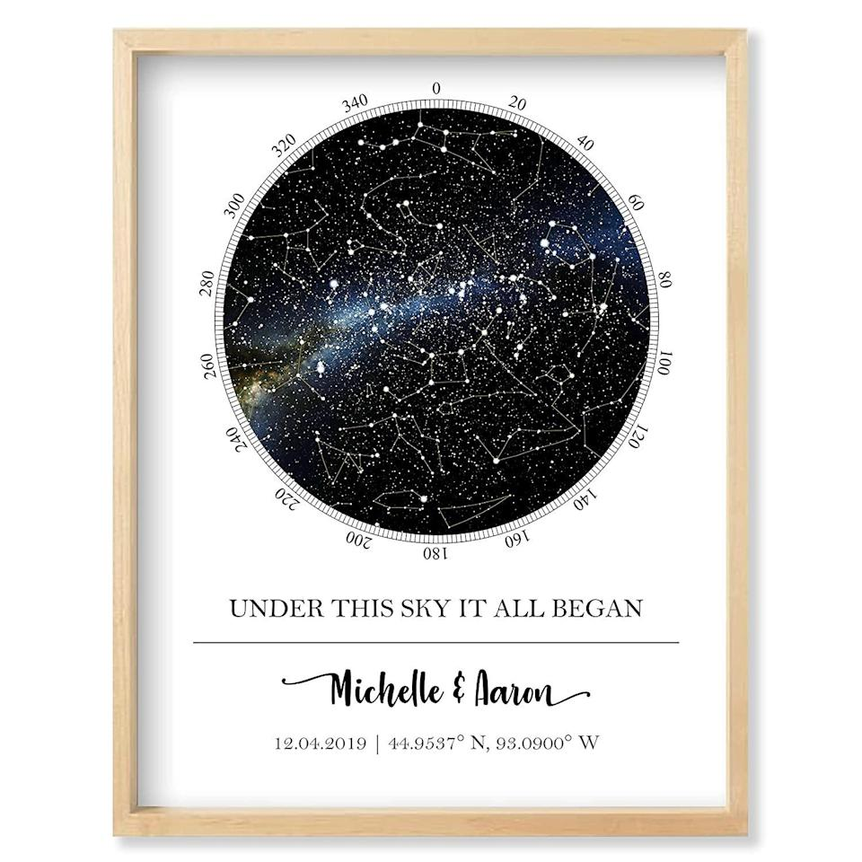 Custom Star Map - Personalized Star Map
