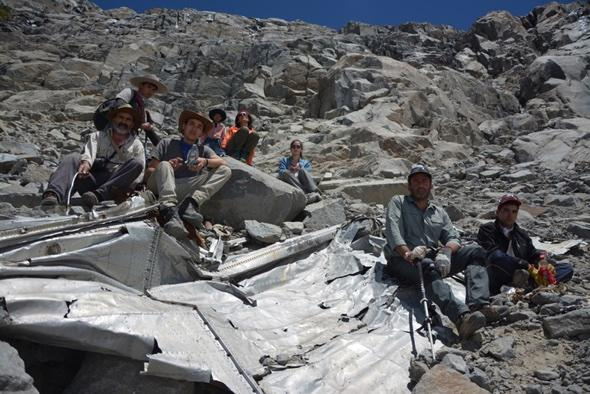 Chilean plane wreckage found in Andes