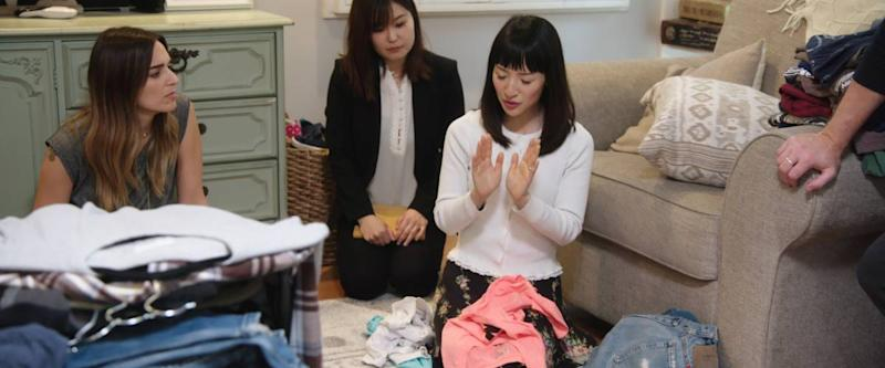 Rachel Friend, Marie Iida, Marie Kondo from Tidying Up with Marie Kondo, Season 1