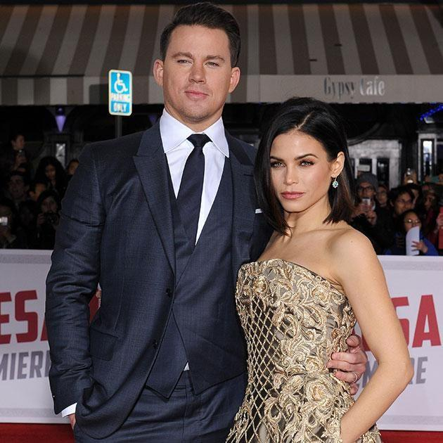 Channing and Jenna. Source: Getty