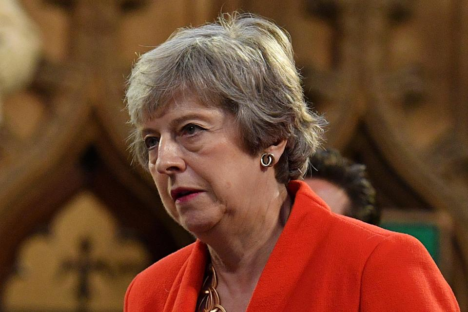 Former prime minister Theresa May (Daniel Leal-Olivas/PA) (PA Archive)