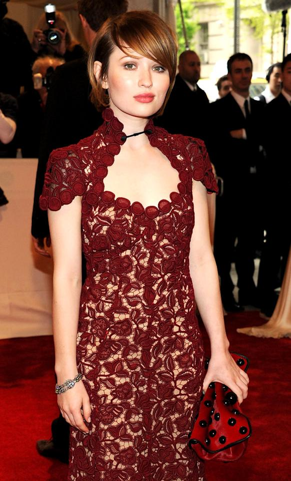Emily Browning's birthday is December 7. She turns 23.