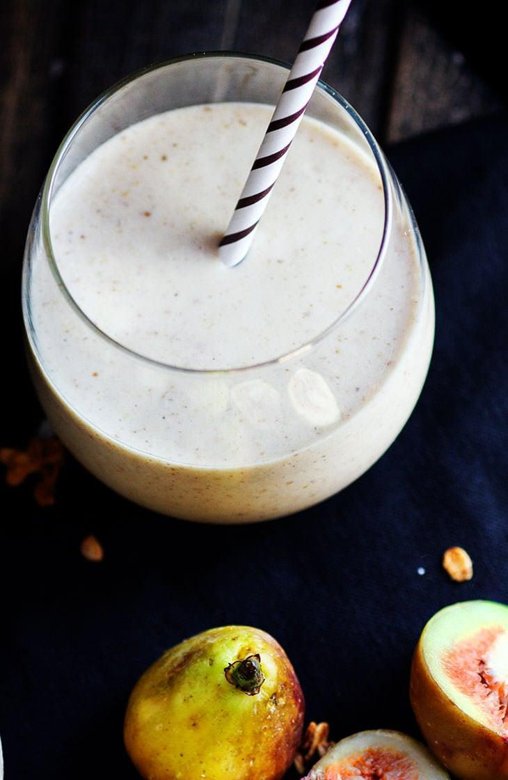 "<p><strong>Get the recipe:</strong> <a href=""http://www.cottercrunch.com/fig-newton-breakfast-smoothie-gluten-free/"" class=""link rapid-noclick-resp"" rel=""nofollow noopener"" target=""_blank"" data-ylk=""slk:gluten-free Fig Newton breakfast smoothie"">gluten-free Fig Newton breakfast smoothie</a></p>"
