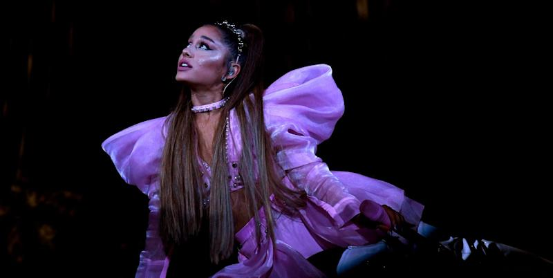 Ariana Grande Tears Up During Concert in Mac Miller's Hometown