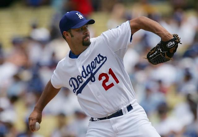 Former MLB pitcher Esteban Loaiza has been arrested in San Diego on drug charges (AFP Photo/Lisa Blumenfeld)