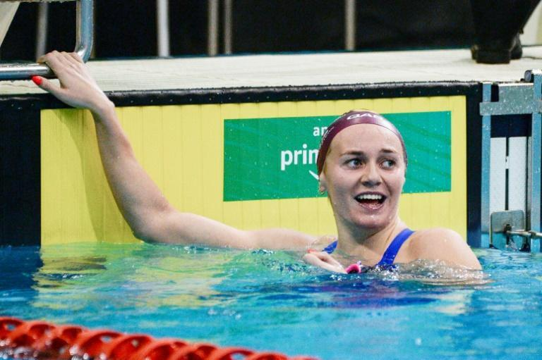 Australia's Ariarne Titmus swam the second fastest 200m freestyle in history