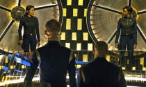 <p>This latest series has been an entertaining standalone for those not bound by <em>Trek</em> lore, though for some superfans of the franchise, its narrative trickery leaves a lot to be desired. Spock and the Enterprise beckon next season.<br>Photo: CBS Interactive </p>