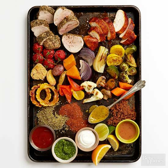 Make-It-Mine Sheet Pan Dinner