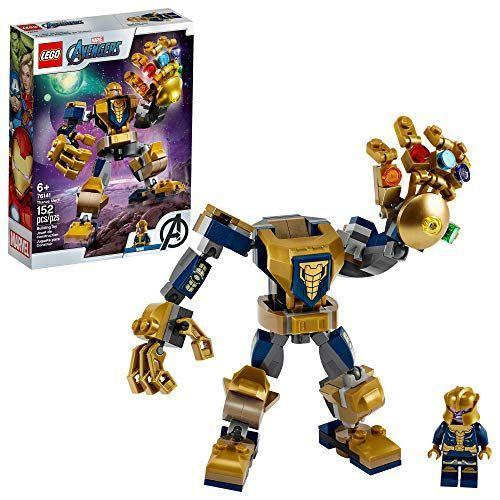 "<p><strong>LEGO</strong></p><p>amazon.com</p><p><strong>$9.84</strong></p><p><a href=""https://www.amazon.com/dp/B07WMLNYCT?tag=syn-yahoo-20&ascsubtag=%5Bartid%7C10055.g.33609399%5Bsrc%7Cyahoo-us"" rel=""nofollow noopener"" target=""_blank"" data-ylk=""slk:Shop Now"" class=""link rapid-noclick-resp"">Shop Now</a></p><p>Superhero fans will love to get their hands on this Thanos minifigure. Yes, it includes the the dreaded Infinity Gauntlet and all six Infinity Stones! </p>"